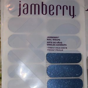 Jamberry Blue Glitter Wraps